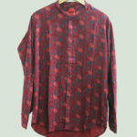 SOOTHING EMERALD REGULAR FIT PRINTED CASUAL SHIRT
