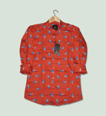 Red Color Shirts for Men's - Buy Red Printed Shirt for Men
