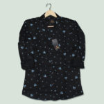 PRINTED BLACK SHIRTS