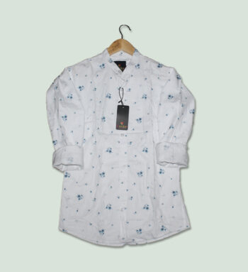 White Shirts for Men Online - Buy Men's White Printed Shirts in India