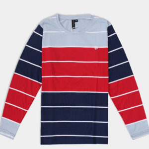 Red and Navy Blue, Full sleeve T-shirt