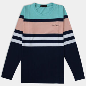 light pink and blue full sleeve